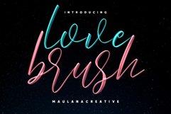 Love Brush SVG Font - Free Sans Product Image 1