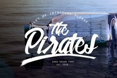 Web Font The Pirates Product Image 1