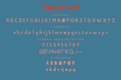 Tropical Land - Cute Display Font Product Image 6