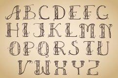 Alphabet Art Deco capital Product Image 1