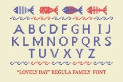 LOVELY-DAY-COLOR-CROSSSTICH OTF-SVG  multicolor font Product Image 4