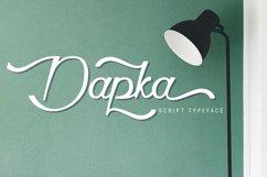 Dapka Script Typeface Product Image 1
