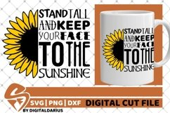 Sunflower Mandala svg, Yellow Flower svg, Sunshine, Sun svg Product Image 1
