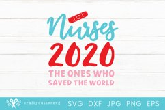 Nurse 2020 Svg File| Hospital Workers Support T-Shirt Product Image 2