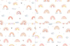 Watercolor Rainbow. Cute Patterns Product Image 3