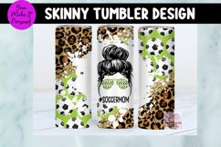 Tumbler Bundle, Messy Bun Designs with Sports Themes Product Image 4