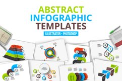 Abstract infographic templates Product Image 1