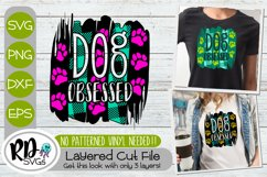 Trendy Dog Mom Bundle - Set of Layered Cricut SVG Cut Files Product Image 2