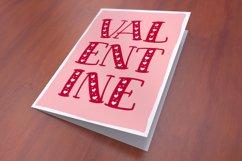Big Sweetie - valentine's day card mockup idea