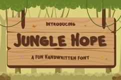 Jungle Hope - Fun Handwritten Font Product Image 1