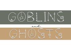 Skeleton - A Fun Halloween Font Product Image 3