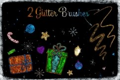 50 Procreate Christmas Stamps and Brushes Product Image 5