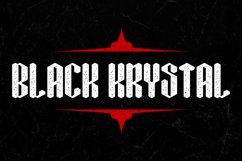 Black Krystal Font Product Image 2