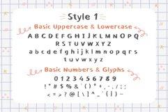 School Blots Font Product Image 2