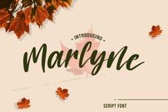 Marlyne Script Font Product Image 1
