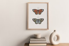 Boho butterfly print, Digital butterfly print, Birthday gift Product Image 8