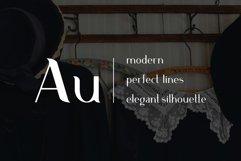 Aurum. Elegant Sans Serif typeface. Product Image 4