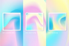 Set Holographic background textures Product Image 2