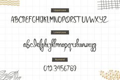 Saluyu Script -Handwritten Font Product Image 4