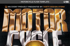 Motorcycle Flyer Template Product Image 5