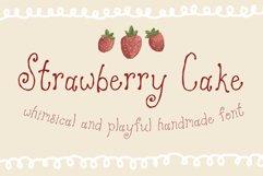 Strawberry Cake Whimsical Font Product Image 1