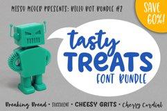 Billy Bot Bundle 2 - Tasty Treats Font Bundle! Product Image 1