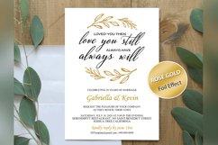 Renew Vows Invitation Template, Anniversary Invite Product Image 2