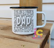 Dad SVG, Father's Day SVG, typography word art Svg, Eps, Dxf Product Image 4