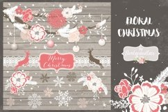 Floral Christmas design Product Image 1