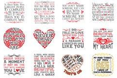 Love Quotes SVG Bundle Product Image 2