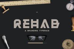 Rehab - The Display Sans Serif Font Product Image 1