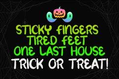 Spooky Green - Handwritten Halloween Font Product Image 3