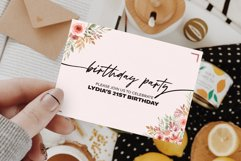 Pink Bottom Romantic font Product Image 8