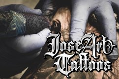 Gangsta Typeface   Tattoo Fonts Product Image 5