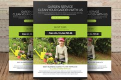 Garden Services Flyer Template Product Image 1