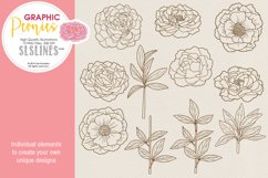 Pretty Peonies in Pink & Yellow Product Image 7