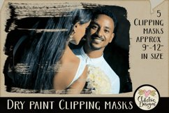 Dry Paint Photoshop Clipping Masks & Tutorial Product Image 4
