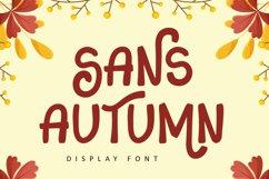 Sans Autumn - Display Font Product Image 1