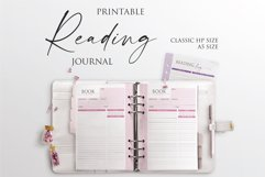 Printable Book Reading Journal Product Image 1