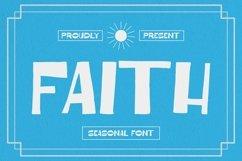 Web Font Faith Font Product Image 1
