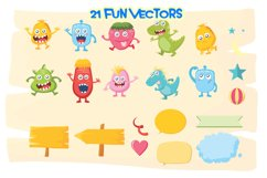 Monster Vector Pack Product Image 6