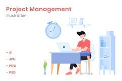 Project Management Illustration Product Image 1