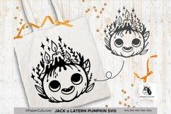 Jack o Lantern Pumpkin SVG Pumpkin face SVG Halloween Svg Cu Product Image 5