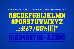Varsity Team Sports Font Product Image 2
