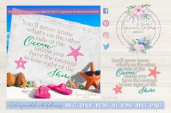 Lose Sight of the Shore SVG DXF Cut File LL034D Product Image 1