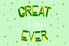 Lucky Green Font Duo Product Image 4