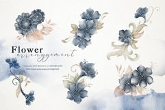 Nautical Floral & Mandala Watercolor Product Image 3