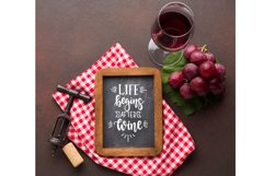 Wine SVG Bundle design set Product Image 3