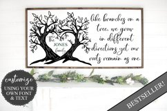 Like Branches on a Tree Family - Customizable SVG Product Image 3