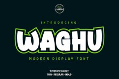 Waghu Product Image 1